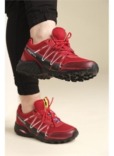 Oksit Filling 756 Erkek Sneaker Kırmızı
